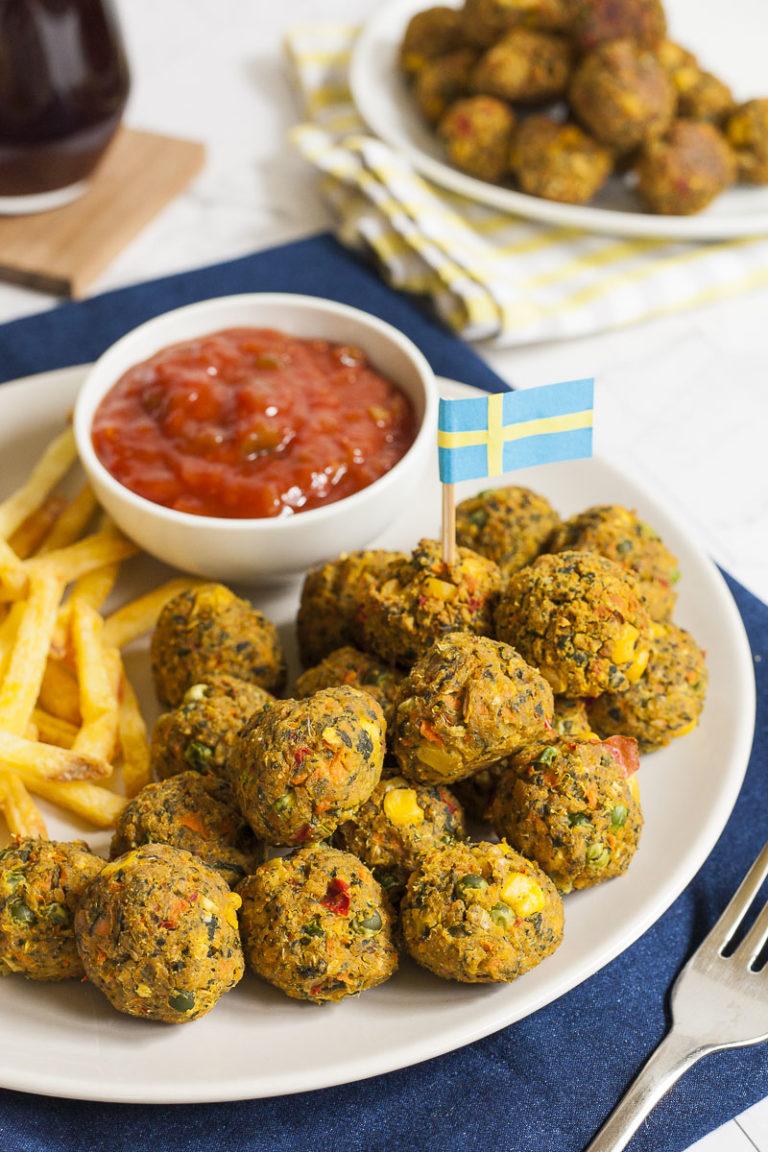 Vegan Veggie Balls