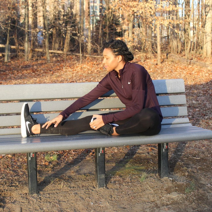 Maroon Nike Workout Outfit-9123