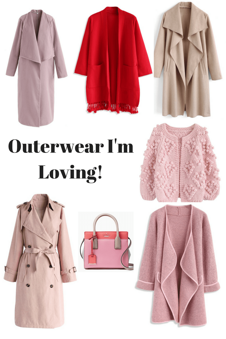 Outerwear I'm Loving