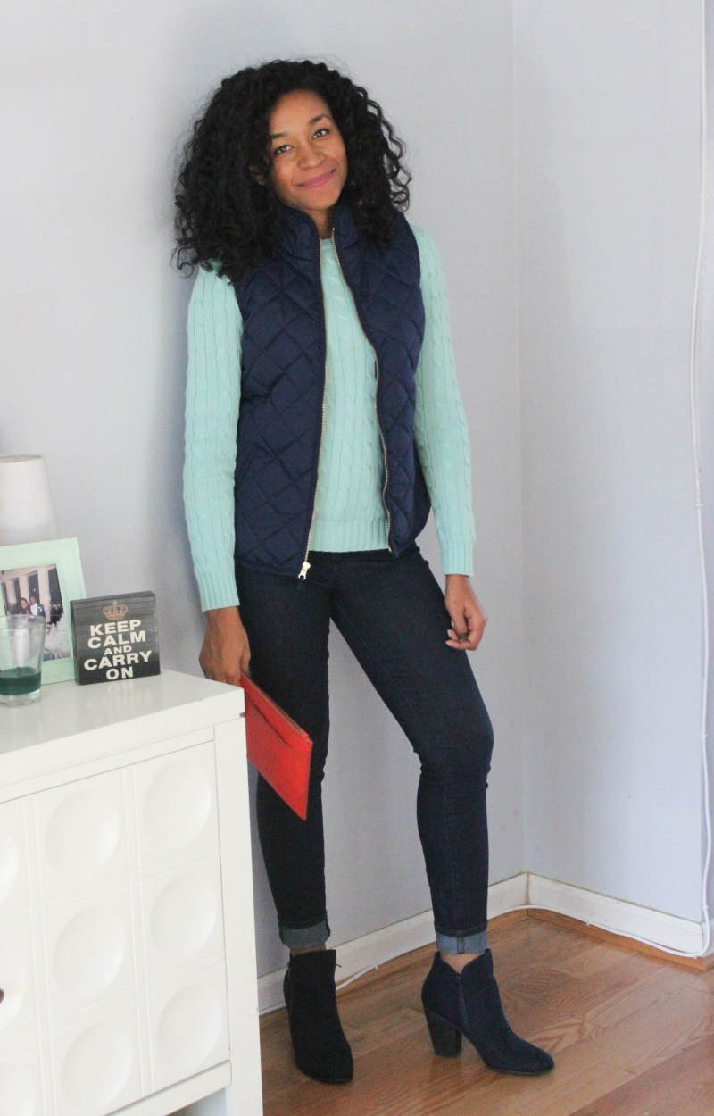 Ralph Lauren Sweater and Old Navy Vest -7960