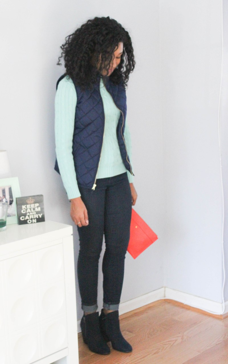 Ralph Lauren Sweater and Old Navy Vest -7992