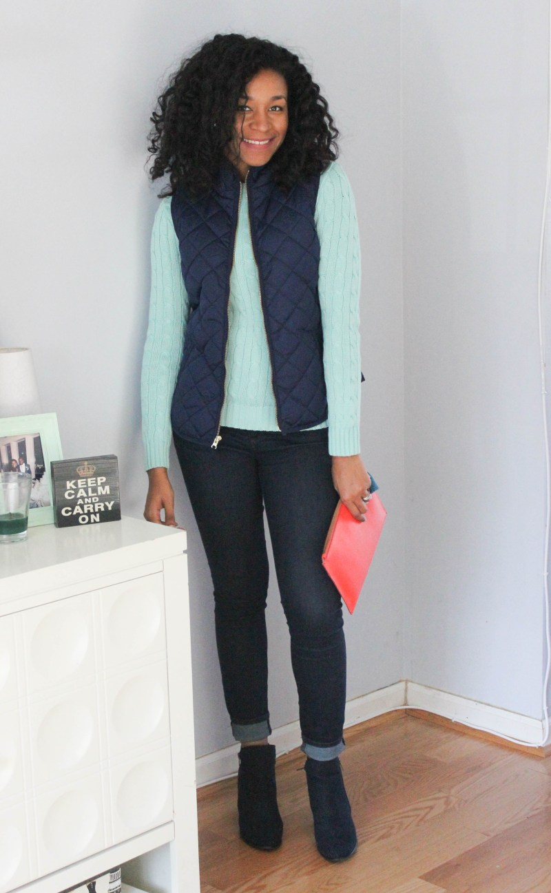 Ralph Lauren Sweater and Old Navy Vest -8028