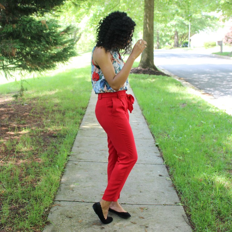 Red & Blue Shirt with Red Express Pants-9468