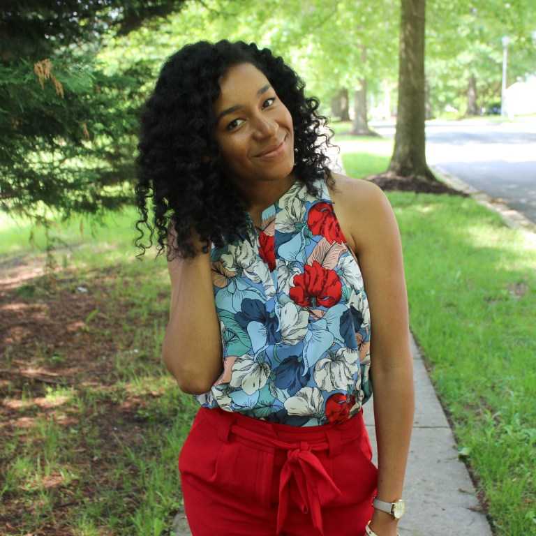 Red & Blue Shirt with Red Express Pants-9537