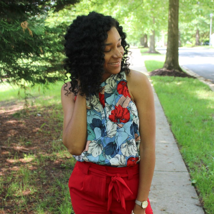 Red & Blue Shirt with Red Express Pants-9540