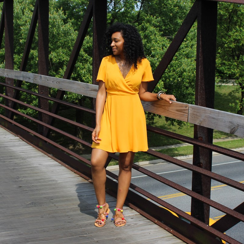 Yellow Sun Dress-0363