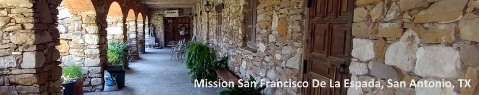 San Antonio Mission San Francisco De La Espada