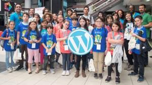 Photos of KidsCamp participants