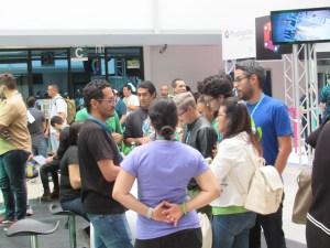 Hallway Meetings at WordCamp San Jose