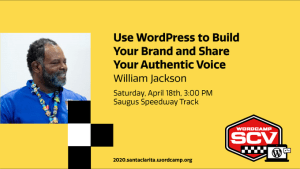 William Jackson, Speaker at WordCamp Santa Clarita