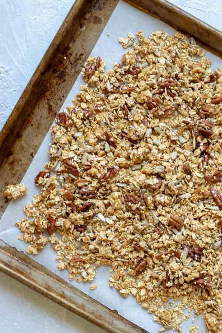 Crunchy Oil-Free Granola-4