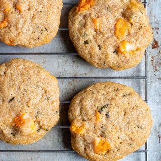 Roasted Honeynut and Rosemary Cookies