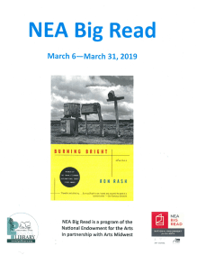 Big Read 2019 Flyer