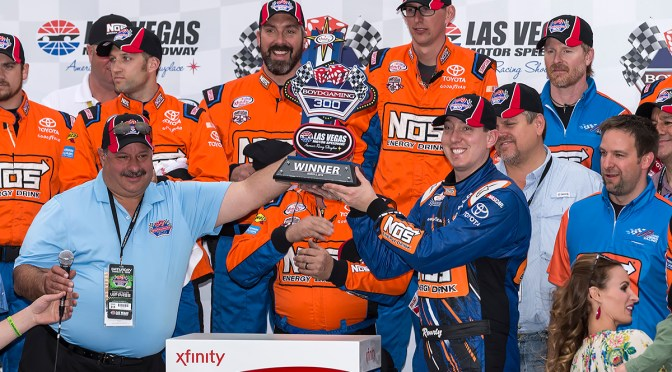 Kyle Busch Is Almost Perfect Today Winning the Boyd Gaming 300