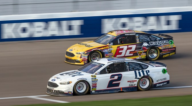 Wind, Sun,  Rain and An Unexpected Finish at Las Vegas Motor Speedway