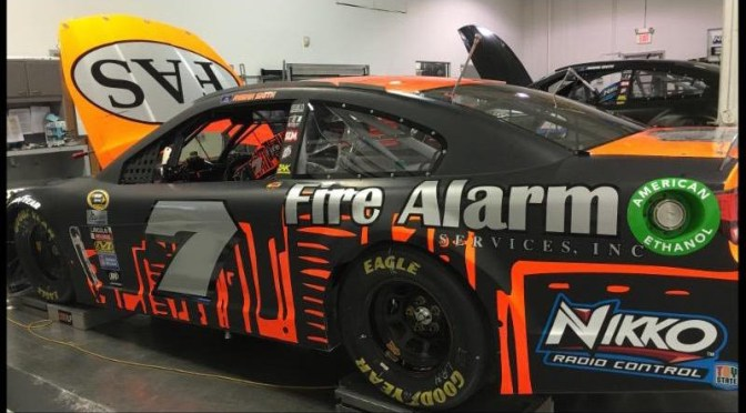 Tommy Baldwin Racing Welcomes Fire Alarm Services  for Two-Race Sponsorship