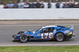 Cory DiMatteo had a strong run finishing third in his rookie start in the SK Lites division at New London-Waterford Speedbowl in Waterford, CT. (Photo by Stephen Furst/Myracenews.com)