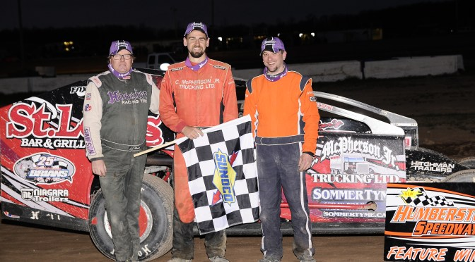 Cody McPherson Takes Home Hardware in First Ever Race of Champions Sportsman 602 Series Event