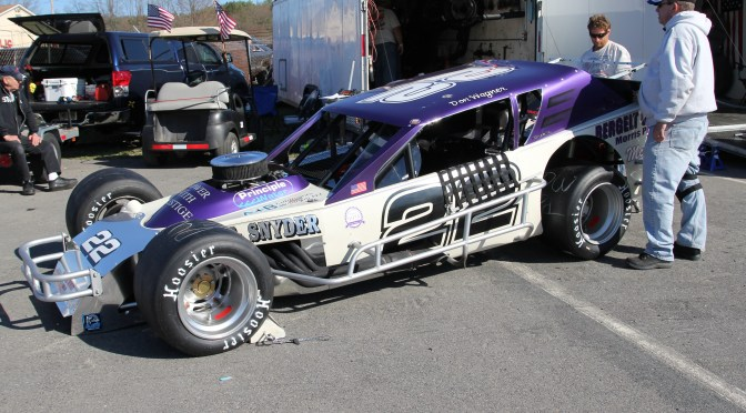 Don Wagner nips Eric Beers in exciting Mahoning Modified action