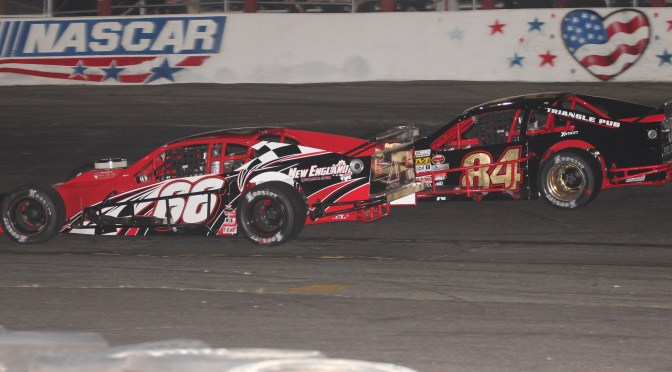 TIMMY SOLOMITO SWEEPS MULLET MADNESS TWIN 50'S SATURDAY AT RIVERHEAD RACEWAY IN FAMILY OWNED MODIFIED