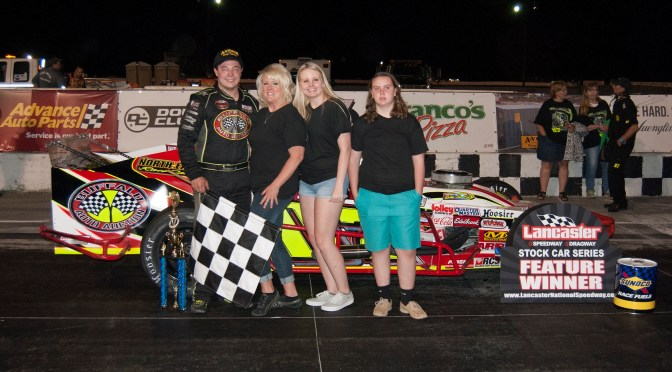 PATRICK EMERILING WINS JOE REILLY SPORTSMAN SUMMER SLAM 75 AT LANCASTER