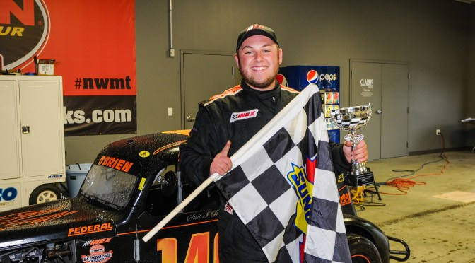 Jordan O'Brien Finds His Way to MSD Legends Series Victory Lane at Thompson