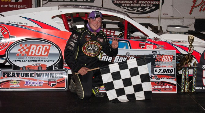 PATRICK EMERLING WINS THE OL' BOY CUP 60 AT LANCASTER
