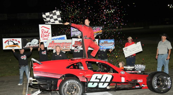 HIRSCHMAN DOMINATES FOR LUCRATIVE TTOMS OPEN WHEEL WEDNESDAY VICTORY AT SEEKONK SPEEDWAY