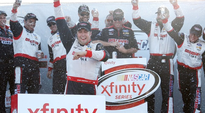 Hornish Jr Claims Victory at Mid-Ohio