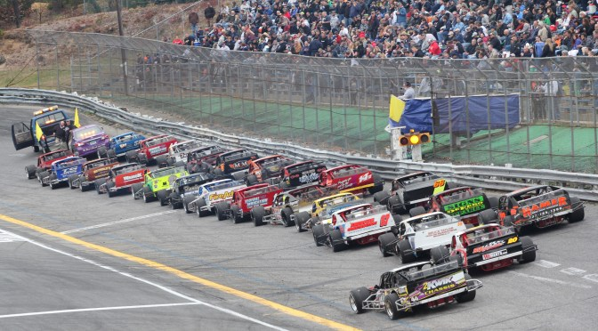LARGE FIELD OF CARS TESTS AT SATURDAY PRACTICE; MANY CARS EXPECTED FOR WALL STADIUM TURKEY DERBY