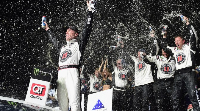 Kevin Harvick Finds Victory Lane in Atlanta After 17 Years