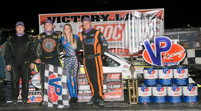 PATRICK EMERLING OPENS UP RACE OF CHAMPIONS ASPHALT MODIFIED SERIES SEASON WITH  A VICTORY IN THE QUEEN CITY CLASH