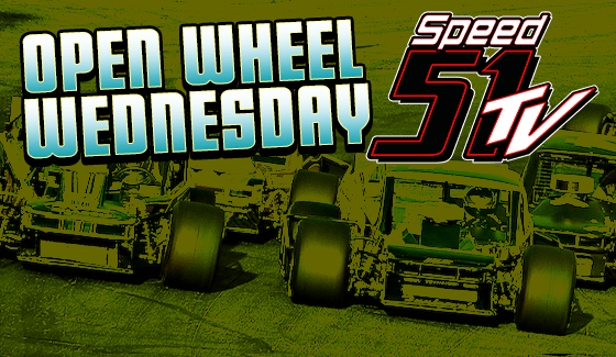 Open Wheel Wednesday to Stream Live on Speed51.com