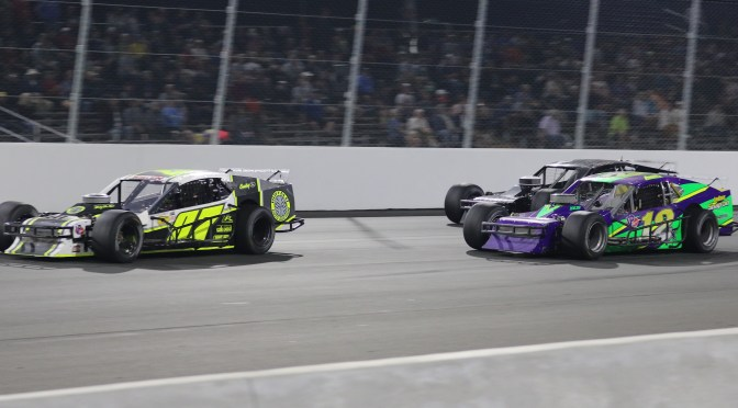 PATRICK EMERLING GRABS LEAD ON RESTART TO EARN RACE OF CHAMPIONS ASPHALT MODIFIED SERIES VICTORY