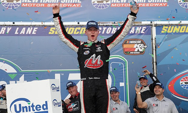 Tyler Ankrum Claims the Win in the NASCAR K&N Pro Series East