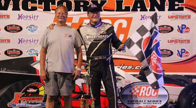 """RACE OF CHAMPIONS ASPHALT MODIFIED SERIES BONUSES PAST $6,800 FOR  TRIBUTE TO """"POPS"""" LEATY 75 AT SPENCER SPEEDWAY ON FRIDAY, AUGUST 31"""