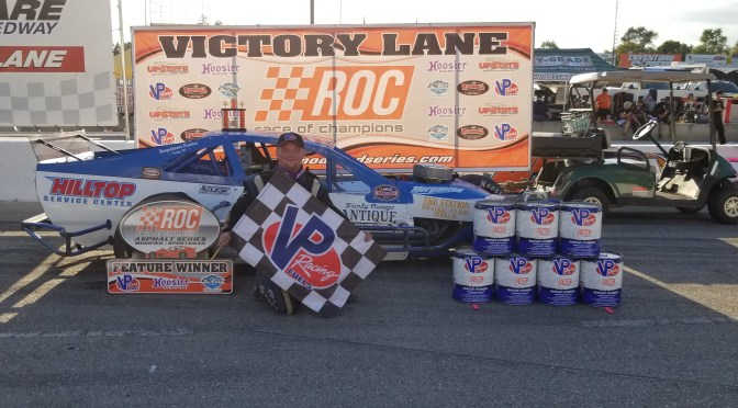 CONNOR SELLARS RUNS TO $2,500 VICTORY AT DELAWARE SPEEDWAY IN ONTARIO