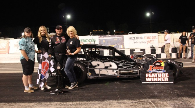 CHUCK HOSSFELD GRABS THIRD-STRAIGHT U.S. OPEN SPORTSMAN WIN