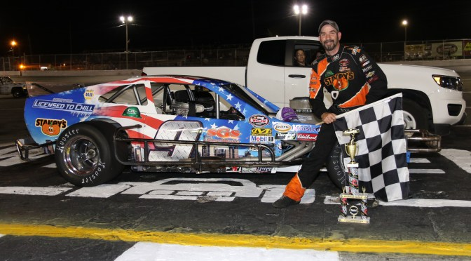 TOM ROGERS JR. WINS 2018 NASCAR MODIFIED FINALE AT RIVERHEAD RACEWAY SATURDAY, KYLE SOPER CLAIMS 1ST CAREER MODIFIED CHAMPIONSHIP