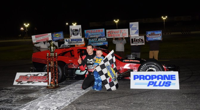 HIRSCHMAN TURNS HAUNTED 100 WIN INTO TTOMS CHAMPIONSHIP AT SEEKONK