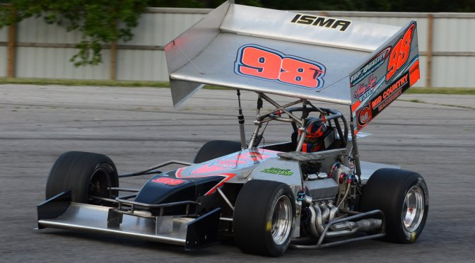 Jason Simmons Racing, Tyler Thompson Eye Brockville Dirt and Thompson Pavement this Weekend