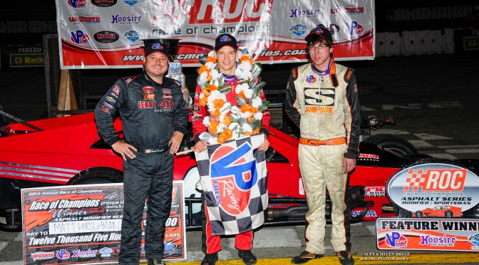 MATT HIRSCHMAN BECOMES MOST PROLIFIC WINNER IN THE HISTORY OF THE RACE OF CHAMPIONS WITH 6TH WIN I