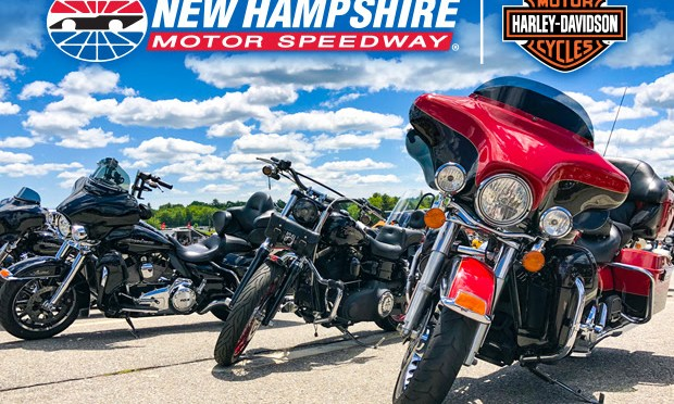 Harley-Davidson is Back During Motorcycle Week at New Hampshire Motor Speedway