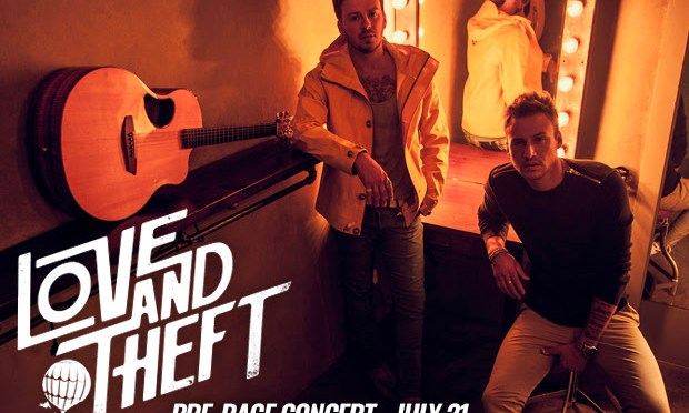 Love And Theft to Headline Pre-Race Concert at New Hampshire Motor Speedway