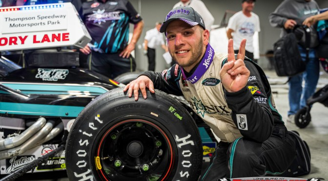 Bonsignore Earns Sixth Straight Thompson Win in Whelen Modified Series