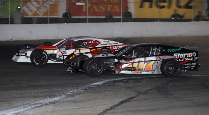 KYLE SOPER EXPRESS ROLLS ON AT RIVERHEAD RACEWAY AS DEFENDING NASCAR MODIFIED CHAMPION WINS FIFTH RACE IN SEVEN STARTS
