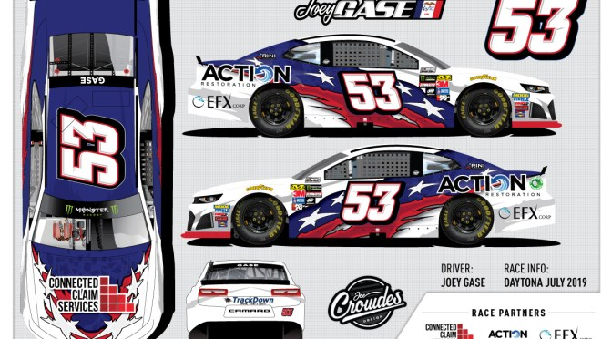 Rick Ware Racing Welcomes Joey Gase to the Driver Lineup at Daytona International Speedway