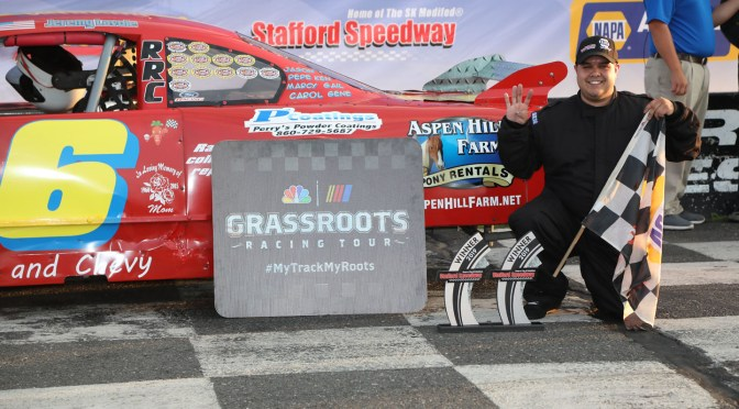 Tight Duel for Stafford Limited Late Model Crown
