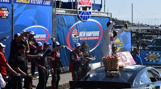 Ty Gibbs Earns His First Career NASCAR Win at New Hampshire Motor Speedway