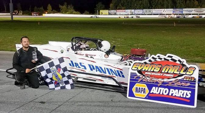 Mike Bruce Brings Home $1,000 Payday with Fall Brawl Victory at Evans Mills Raceway Park